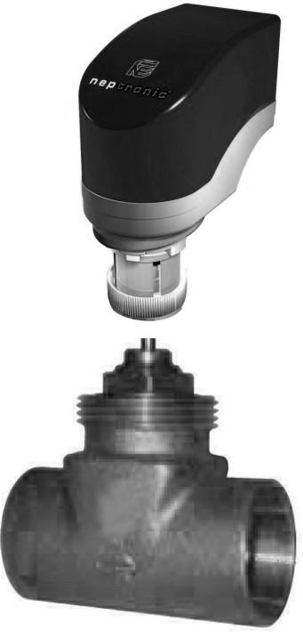 2-х ходовые зональные клапаны с реверсивными приводами